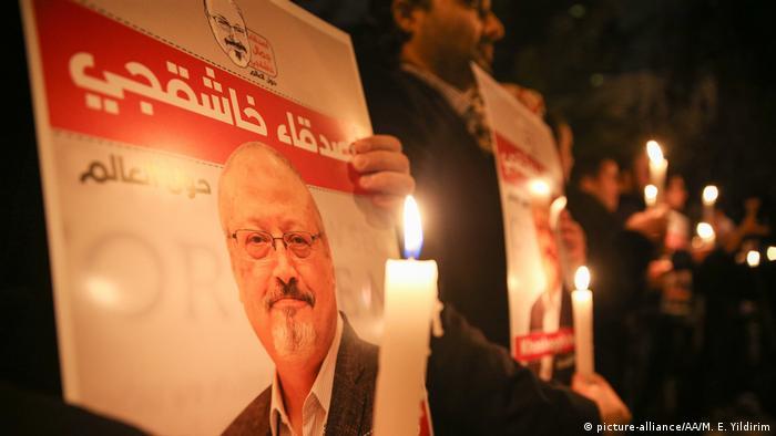 Türkei Journalist Jamal Khashoggi Protest