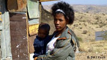 Katatura (Township von Windhuk, Namibia), aktuelle Aufnahme, Foto: Anja Koch