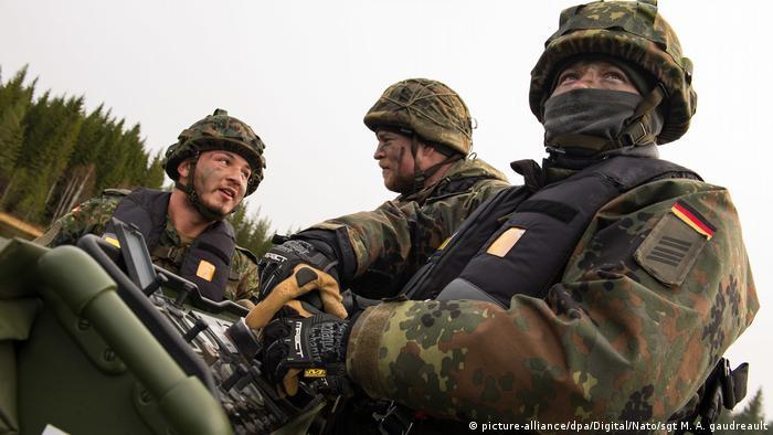 German troops partake in Trident Juncture in Norway