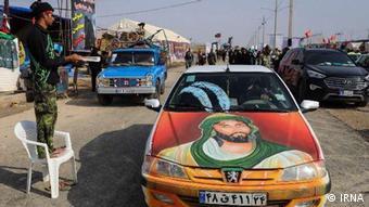 Iranische Pilger im Irak (IRNA)