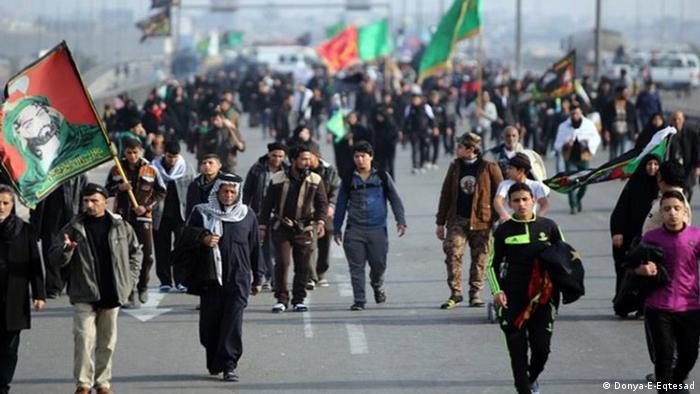 Iranische Pilger im Irak