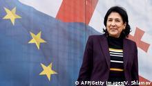 Wahlen in Georgien Kandidatin Salome Zurabishvili