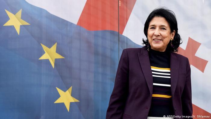 Президентка Грузії Саломе Зурабішвілі