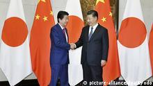Peking Abe bei Xi