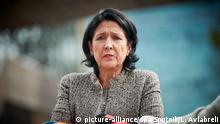 Salome Surabischwili Ex Außenministerin Georgien