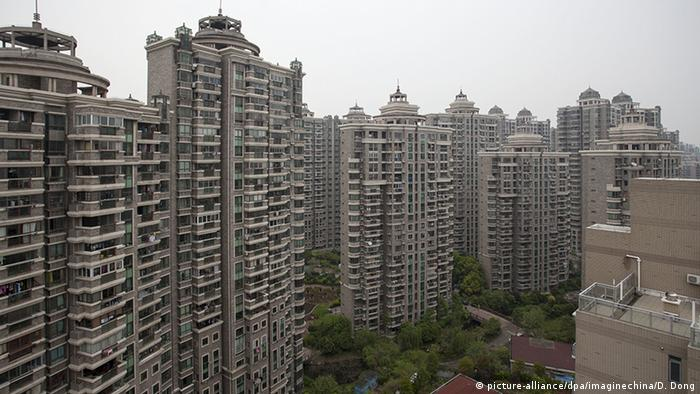 Blocks of apartments in Shanghai
