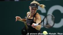 Singapur WTA Tennis Angelique Kerber vs Sloane Stephens