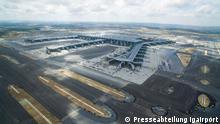 Istanbul, Türkei: Eröffnung des Flughafens