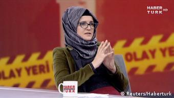 Hatice Cengiz verlobte des ermordeten Jamal Khashoggi im TV Interview
