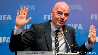 Ruanda Infantiono FIFA Councel Treffen