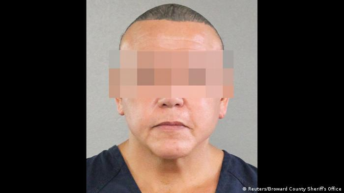 Cesar S. - Angeklagter im Paketbomben-Fall (Reuters/Broward County Sheriff's Office)