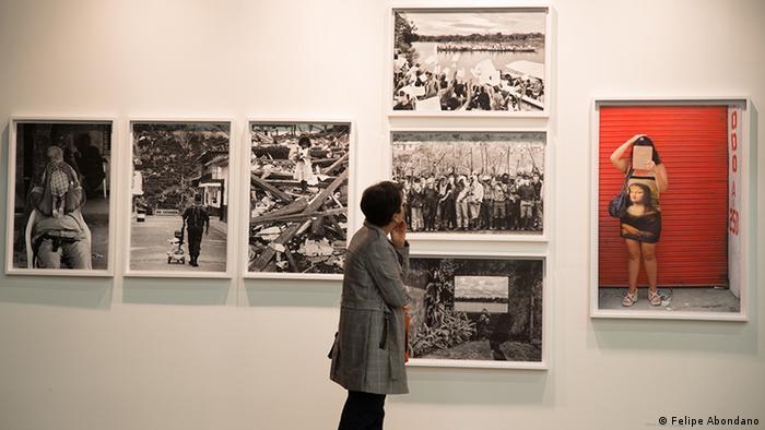 Kolumbien Internationale Kunstmesse ARTBO (Felipe Abondano)