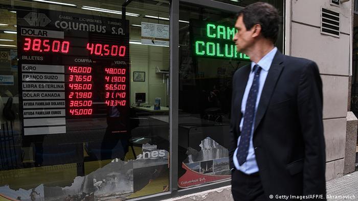 Argentinien Buenos Aires Wechselkurse