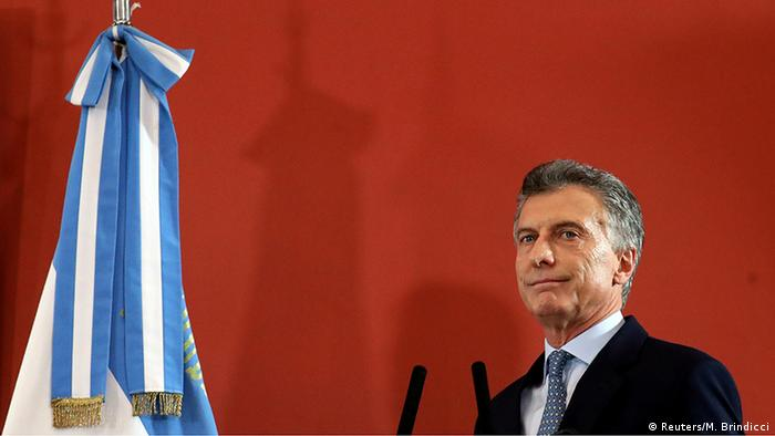 Argentine President Mauricio Macri (Reuters/M. Brindicci)