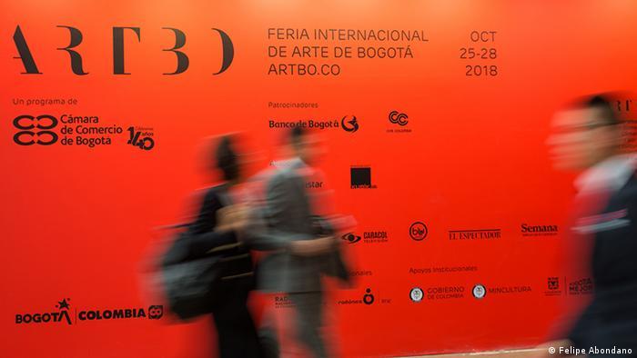 Kolumbien Bogota International Kunstmesse ARTBO (Felipe Abondano)