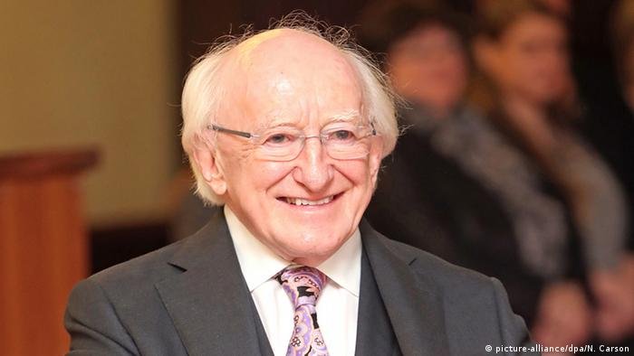 Irish President Michael Higgins (picture-alliance/dpa/N. Carson)