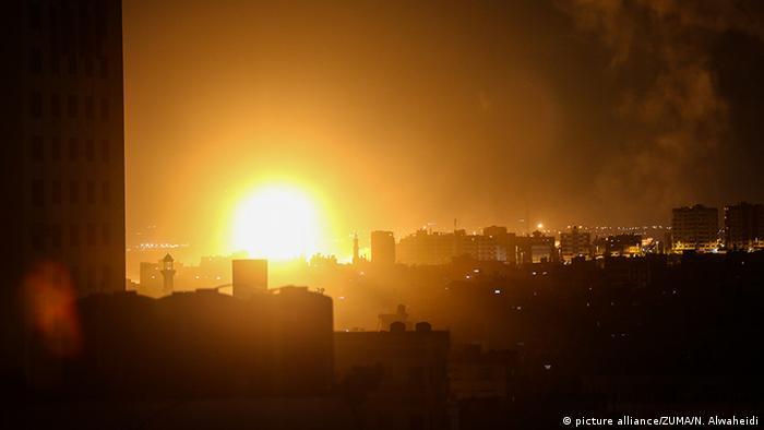 Israelische Luftangriffe auf Gazastreifen (picture alliance/ZUMA/N. Alwaheidi)
