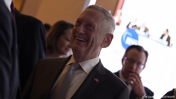 US Defense Secretary James Mattis