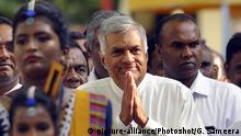 Ranil Wickremesinghe (picture-alliance/Photoshot/G. Sameera)