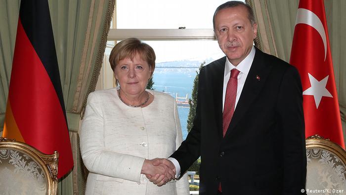 Merkel i Erdogan, 2019.