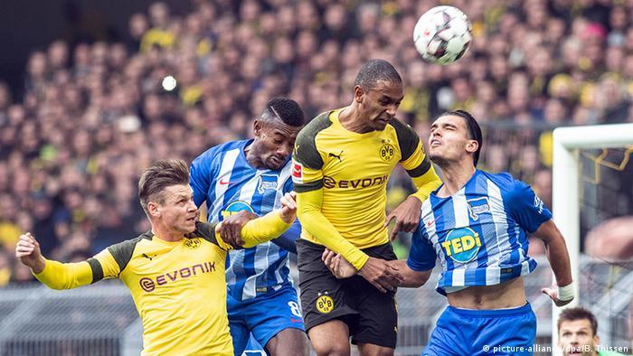Fußball Bundesliga Borussia Dortmund - Hertha BSC (picture-alliance/dpa/B. Thissen)