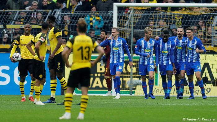 Fußball Bundesliga Borussia Dortmund - Hertha BSC (Reuters/L. Kuegeler)