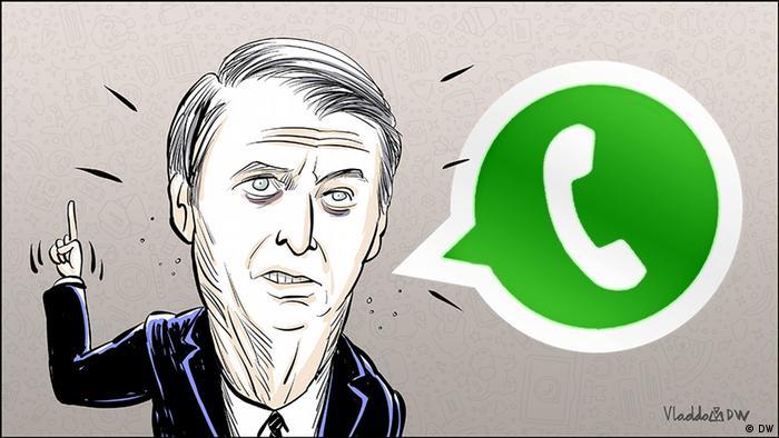 Karikatur von Vladdo Whatsapp (DW)