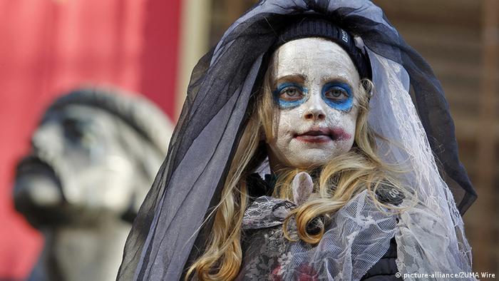 Ukraine - Zombie Walk Halloween 2018 in Kiev