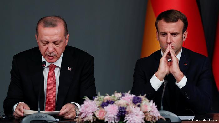 توتر مستمر بين تركيا وفرنسا