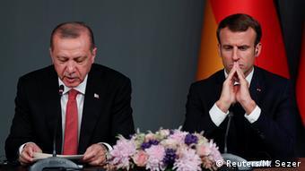 «Εδώ και καιρό η Γαλλία θεωρεί ότι τα ευρωπαϊκά συμφέροντα στην ανατολική Μεσόγειο απειλούνται από τις νεο-οθωμανικές φιλοδοξίες»