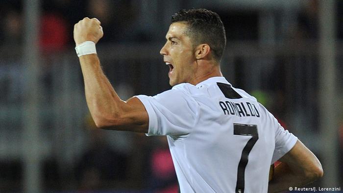 Italien Fussball - Empoli v Juventus - Jubel Ronaldo (Reuters/J. Lorenzini)