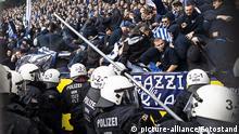 Fussball Bundesliga 9. Spieltag l Dortmund vs Hertha - Ausschreitungen