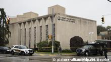 Pennsylvania USA Kriminalität l Schüsse an Synagoge in Pittsburgh