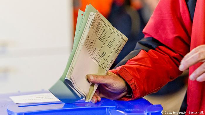 Buletine de vot la Hessa