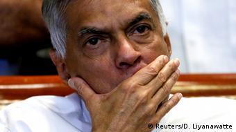 Sri Lanka Abgesetzter Premierminister Ranil Wickremesinghe