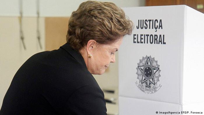Brasilien Präsidentschaftswahlen Dilma Rousseff (Imago/Agencia EFE/P. Fonseca)