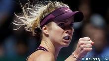 Tennis WTA in Singapur Elina Svitolina - Sloane Stephens