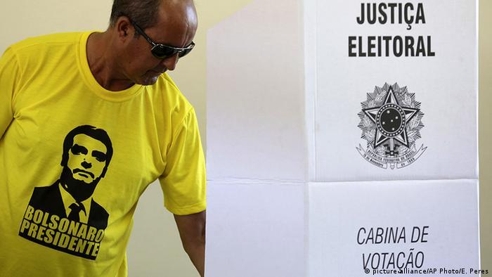 Brasilien Präsidentschaftswahlen Wähler (picture-alliance/AP Photo/E. Peres)