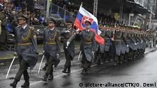100. Jahrestag der Tschechoslowakei - Militärparade