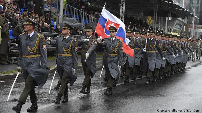 Военный парад в Праге