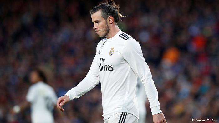 لاعب ريال مدريد غاريث بيل