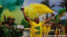 Brasilien Wahlen - Jubel bei den Bolsonaro-Anhängern
