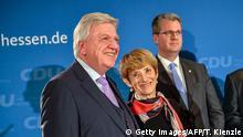 Deutschland - Landtagswahl Hessen - Reaktion der CDU - Volker Bouffier