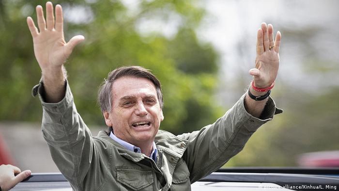 Brazil's president-elect Jair Bolsonaro (picture-alliance/Xinhua/L. Ming)