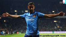 Fußball Bundesliga Werder Bremen - Bayer Leverkusen - Jubel Drittes Tor (Getty Images/Bongarts/M. Rose)