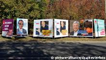 Landtagswahl in Hessen 2018 - Wahlplakate
