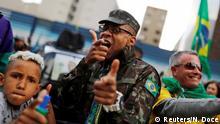 Brasilien Präsidentschaftswahlen Bolsonaro Anhänger