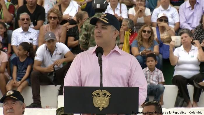 Kolumbien, Präsident, Iván Duque (youtube/Presidencia de la República - Colombia)
