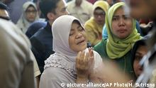Indonesien Flugzeugabsturz Lion Air (picture-alliance/AP Photo/H. Sutrisno)