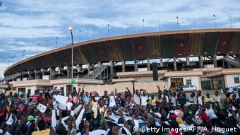 Kamerun Stadion in Yaoundé (Getty Images/AFP/A. Huguet)